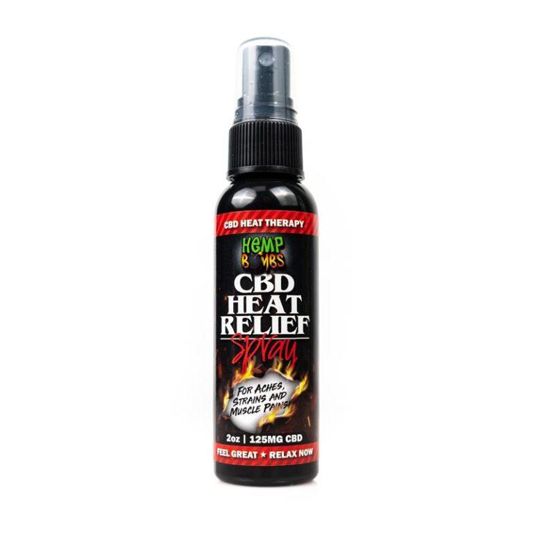 Hemp Bombs CBD Heat Relief Spray
