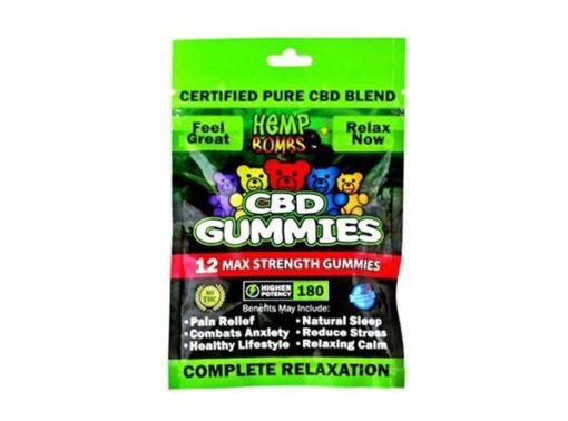 Hemp Bombs CBD Gummies relax 180mg