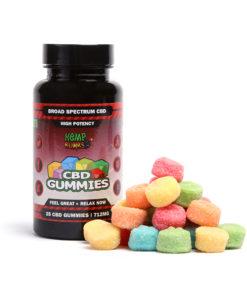 Hemp Bomb 712mg Gummies CBD