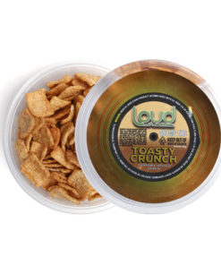 Loud Edibles Toasty Crunch Cereal