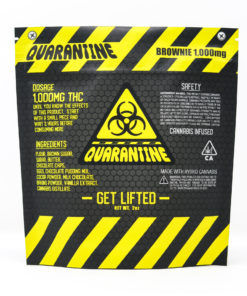 Quarantine 1000mg Brownie
