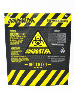 Quarantine 1000mg Brownie