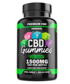 Hemp Bombs CBD Gummies 1500MG