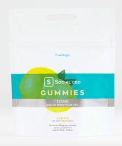 Social CBD Lemon Gummies 125mg