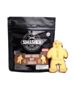 Smashed Honey Dutch Boy Cookies