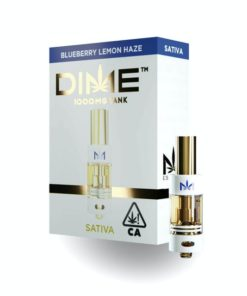 DIME Vape Cartridge Blueberry Lemon Haze 1G