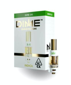 DIME Vape Cartridge Dime OG 1G