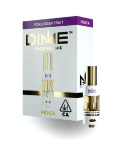 DIME Vape Cartridge Forbidden Fruit 1G