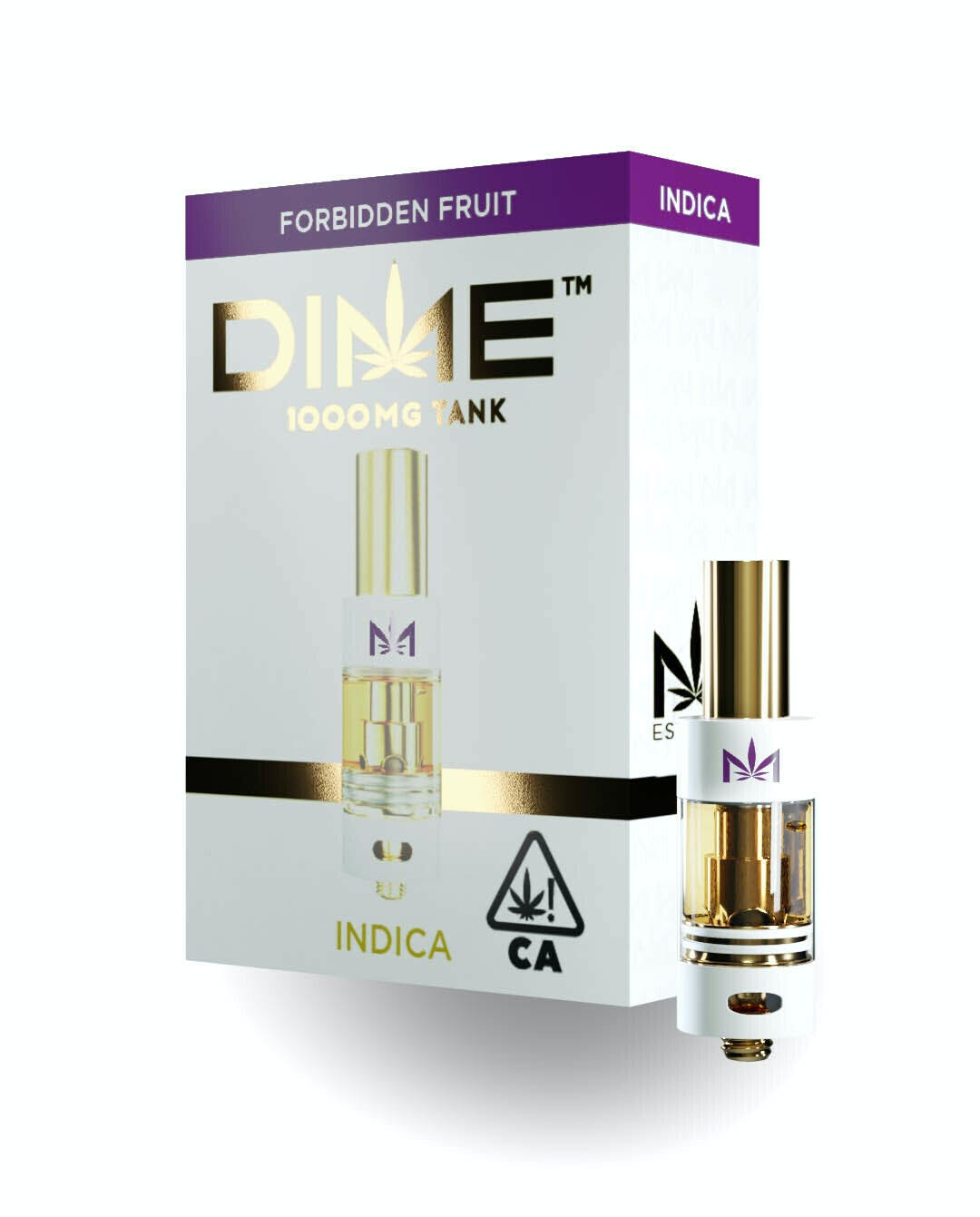 DIME Vape Cartridge Forbidden Fruit 1G