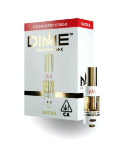 DIME Vape Cartridge Strawberry Cough 1G