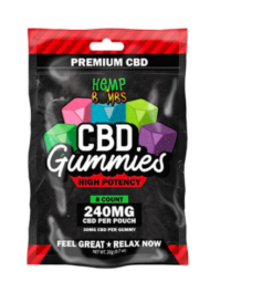 Hemp Bombs CBD Gummies High Potency 240mg