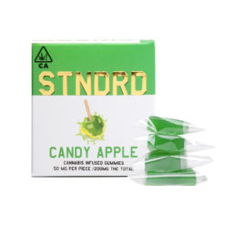 STNDRD_cannabis_infused_gummies_200mg_candy_apple
