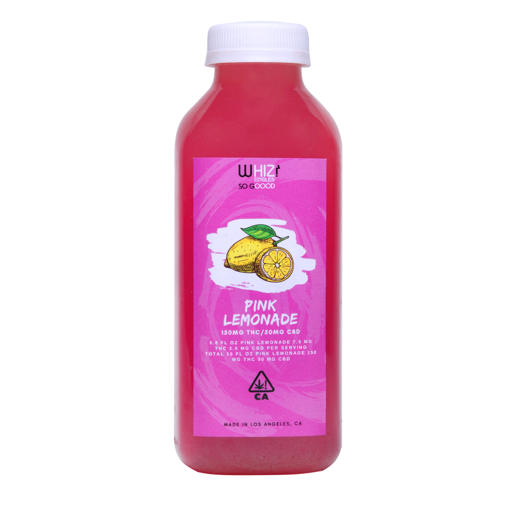 Whiz Edibles Pink Lemonade