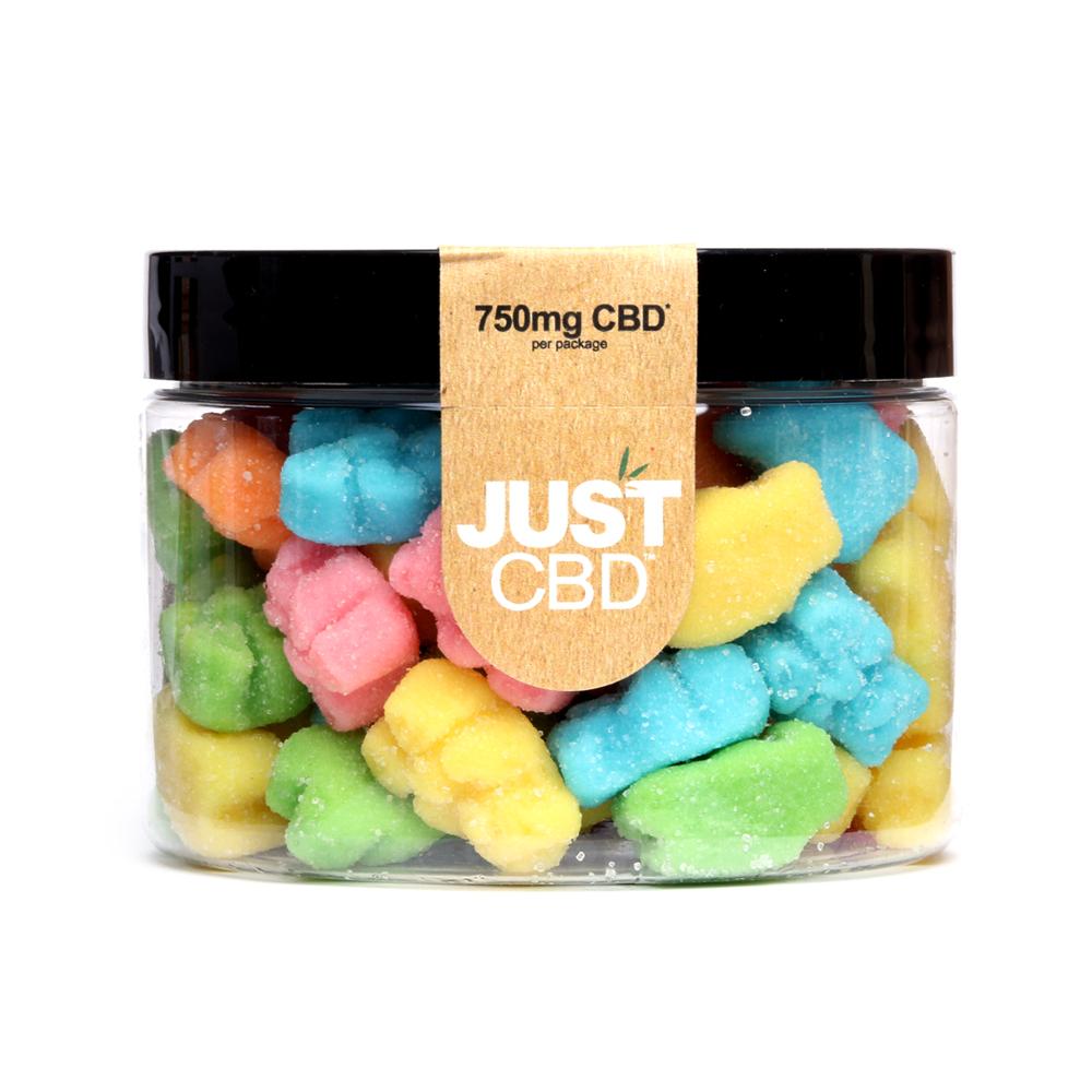 Just CBD Sour Gummies 750mg